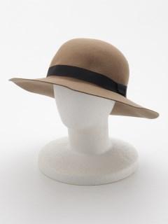 フェルト女優帽