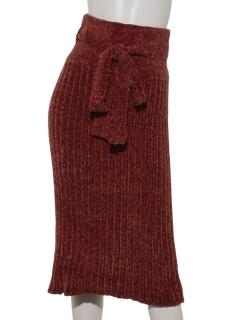 ブライトモールハイウエストスカート