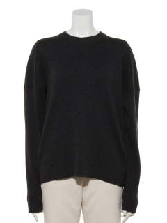 Co/Wool Rib pullover