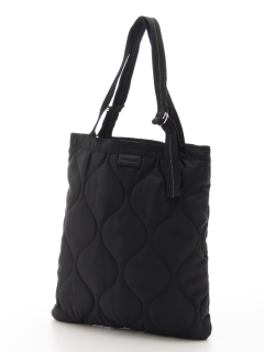 NYLON QUILTING REVERSIBLE TOTE