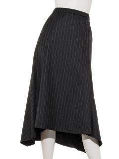 ストライプヘムスカート