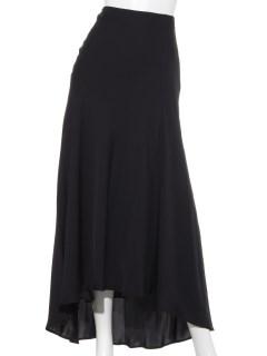 絹使用ロングスカート