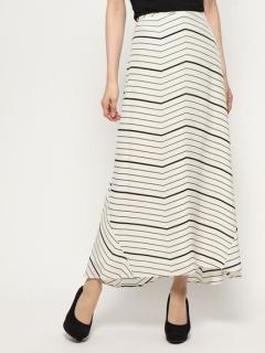 シルクフィッシュテールロングスカート