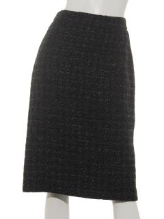 ツイードタイトスカート