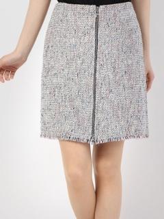 センタージップアップ台形スカート