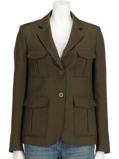 ポケット付き デザインジャケット