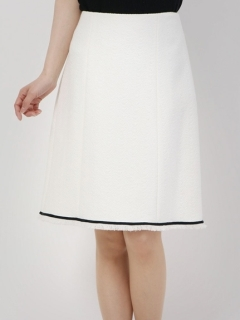 コットン台形スカート