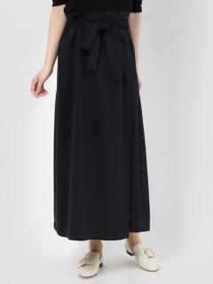 リボンベルトデザインラップスカート