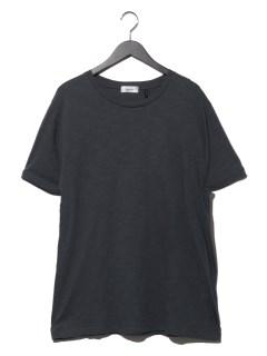 コットンラウンドネックTシャツ