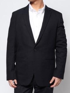 ストライプテーラードジャケット