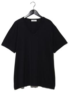 半袖VネックスタンダードTシャツ