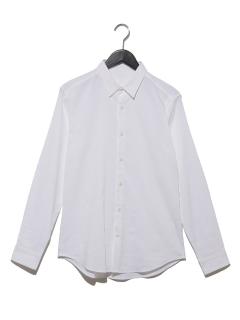 リネン混シャツ