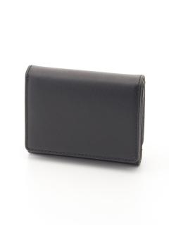 スムース三つ折りコンパクト財布