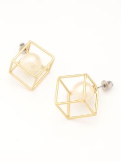 立方体ピアス