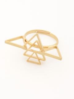 三角形リング