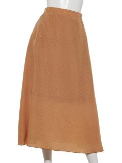 ・【Chocol raffine】ドットフレアスカート