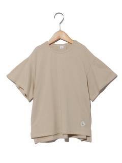 袖ギャザービッグTシャツ