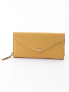 牛革レター型長財布