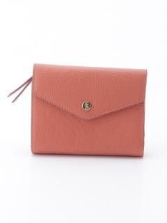 牛革レター型二つ折り財布