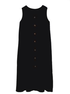 リネン2WAYサマードレス