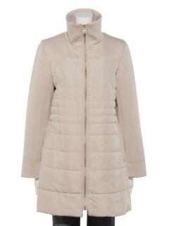 中綿ボンバーコート