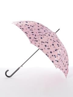 【ルフジュ】婦人ジャンプ長傘 サクランボ柄