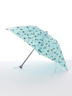 【ルフジュ】婦人折りたたみ傘サクランボ柄