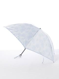 【ルフジュ】婦人折りたたみ傘レース花柄