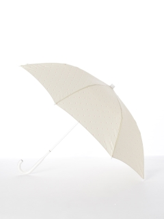 【[+TIC]】婦人長傘ドット柄