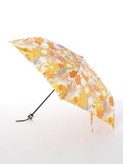 【ビバユー】婦人折りたたみ傘 幾何花