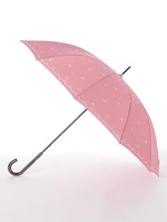 【ライトスタイル】婦人長傘リボンドット柄