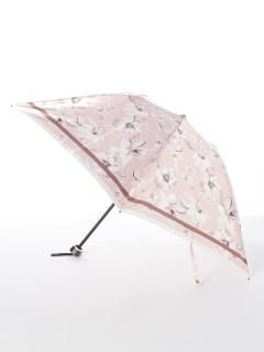 【ミラショーン】婦人折りたたみ傘 花柄