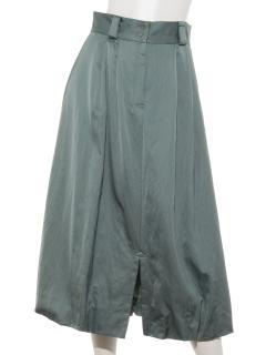サテンバルーンスカート