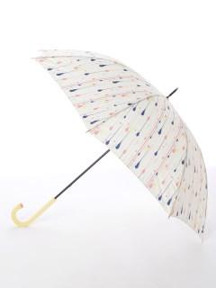 【korko(コルコ)】軽量カーボン骨手開き長傘【ドロップス】