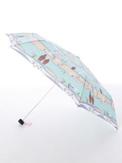 【korko(コルコ)】軽量スリム折り畳み傘【森とクマ】