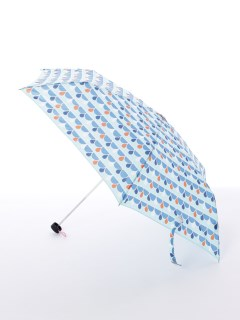 【korko(コルコ)】軽量スリム折り畳み傘【ドロップブルー】
