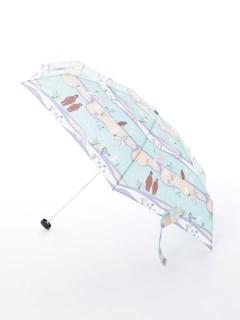 【korko(コルコ)】コンパクト折り畳み傘【森とクマ】