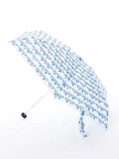 【korko(コルコ)】コンパクト折り畳み傘【ドロップブルー】