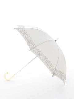 【korko(コルコ)】晴雨兼用の刺繍日傘ショートタイプ【ハンマルビー湖街の風景】