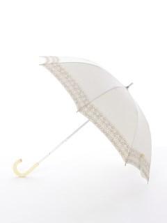 【korko(コルコ)】晴雨兼用の刺繍日傘ショートタイプ【シナモンロール】