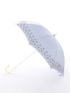 【korko(コルコ)】晴雨兼用の刺繍日傘ショートタイプ【ウルリクスダール城の庭園】