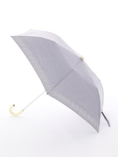 【korko(コルコ)】晴雨兼用の刺繍日傘2段折り畳みタイプ【コーンフラワー】
