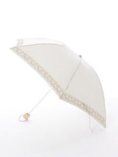 【korko(コルコ)】晴雨兼用の刺繍日傘ミニタイプ【シナモンロール】