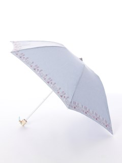 【korko(コルコ)】晴雨兼用の刺繍日傘ミニタイプ【スモーランドのコテージ】