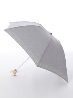 【korko(コルコ)】晴雨兼用の刺繍日傘ミニタイプ【コーンフラワー】