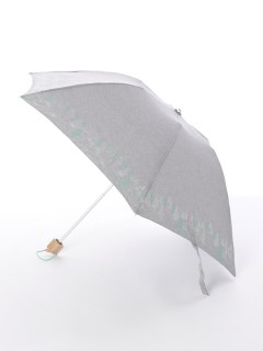 【korko(コルコ)】晴雨兼用の刺繍日傘ミニタイプ【かくれんぼ】