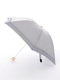 【korko(コルコ)】晴雨兼用の刺繍日傘ミニタイプ【ベリエ】
