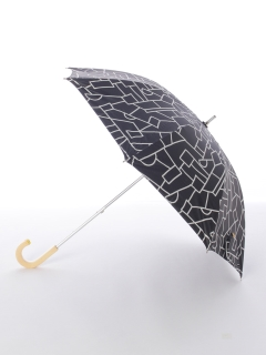 【korko(コルコ)】晴雨兼用のプリント日傘ショートタイプ【ストラクチャー】