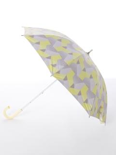 【korko(コルコ)】晴雨兼用のプリント日傘ショートタイプ【ブラインドシャドー】