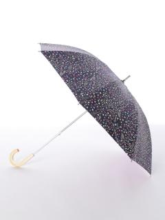 【korko(コルコ)】晴雨兼用のプリント日傘ショートタイプ【パインツリー】